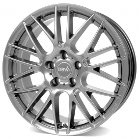 alloy wheel DBV 5KS 003 brilliant silver painted 17 inches 5x112 PCD ET45 DC7JM45HBX