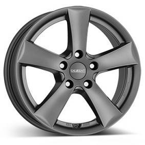 alloy wheel DEZENT TX graphite graphit matt 14 inches 4x100 PCD ET47 TTXH2GA47E