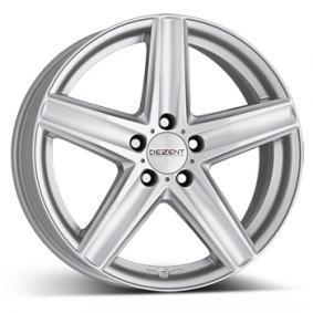 alloy wheel DEZENT TG brilliant silver painted 16 inches 5x112 PCD ET53 TTG68SA53E