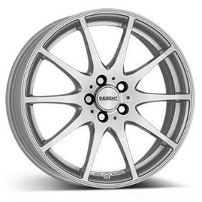 alloy wheel DEZENT TI brilliant silver painted 16 inches 5x114.3 PCD ET38 TTIZ0SA38E