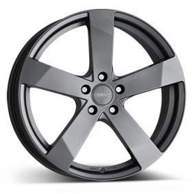 alloy wheel DEZENT TD graphite matt graphite 15 inches 5x100 PCD ET38 TTDK6GA38V