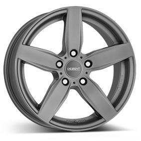 alloy wheel DEZENT TB graphite graphit matt 17 inches 5x120 PCD ET30 TTBS9GA30E