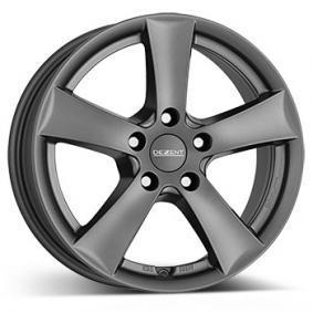 alloy wheel DEZENT TX graphite graphit matt 16 inches 5x105 PCD ET41 TTXZAGA41E