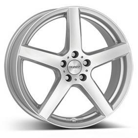 alloy wheel DEZENT TY brilliant silver painted 16 inches 5x108 PCD ET50 TTYZHSA50