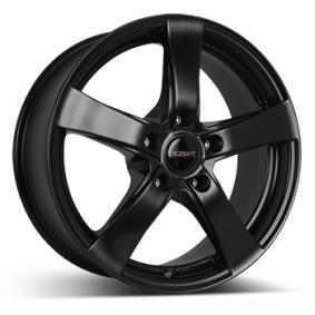 lichtmetalen velg DEZENT RE dark Mat zwart/gepolijst 15 inches 5x112 PCD ET43 TREK8KA43E