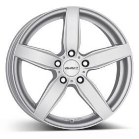 alloy wheel DEZENT TB brilliant silver painted 17 inches 5x120 PCD ET30 TTBS9SA30E