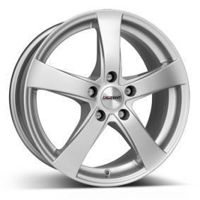 alloy wheel DEZENT RE brilliant silver painted 16 inches 5x108 PCD ET50 TREZHSA50E16