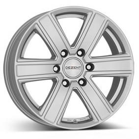 alloy wheel DEZENT TJ brilliant silver painted 16 inches 6x139.7 PCD ET38 TTJPDSA38E