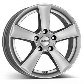 alloy wheel DEZENT TX brilliant silver painted 17 inches 5x110 PCD ET33 TTX77SA33E