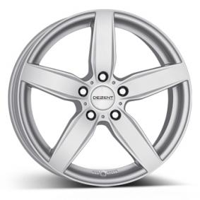 alloy wheel DEZENT TB brilliant silver painted 18 inches 5x112 PCD ET51 TTBF8SA51E