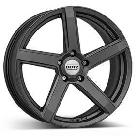 DOTZ CP5 graphit matt alloy wheel 7xR17 PCD 4x98 ET38 d58.10
