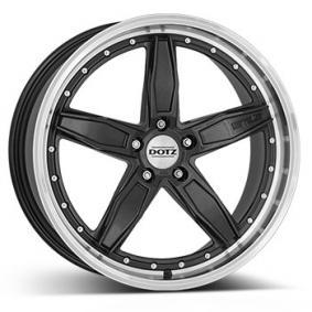 alloy wheel DOTZ SP5 dark gunmetal front polished 19 inches 5x114.3 PCD ET45 OSP9L0FL45