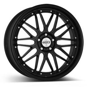 lichtmetalen velg DOTZ Revvo black edt. Mat zwart/gepolijst 19 inches 5x112 PCD ET45 ORE9L8KA45