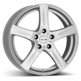 alloy wheel ENZO G brilliant silver painted 17 inches 5x108 PCD ET48 EGYHSA48