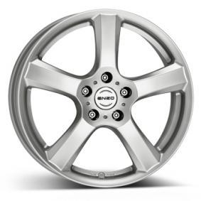 alloy wheel ENZO B brilliant silver painted 17 inches 5x112 PCD ET45 EB78SA45A