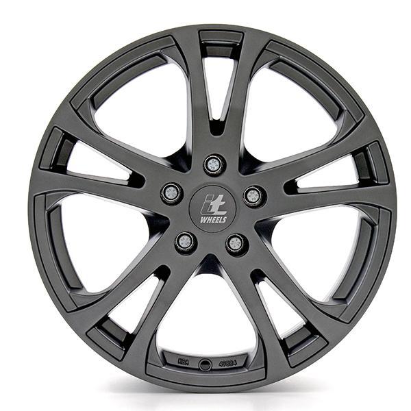 itWheels MICHELLE матирано черно титаниев борд алуминиеви джант 5.5xR14 PCD 5x100 ET35 d63.30