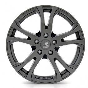alloy wheel itWheels MICHELLE matt black titanium lip 14 inches 5x100 PCD ET35 4550504