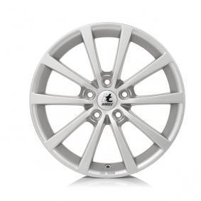 itWheels ALICE gloss silver Alufelge 7xR17 PCD 5x108 ET45 d63.40