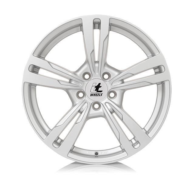 itWheels ANNA gloss silver lichtmetalen velg 7.5xR17 PCD 5x120 ET35 d72.60