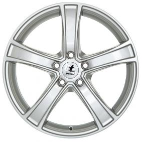 alloy wheel itWheels EMMA brilliant silver painted 16 inches 5x105 PCD ET38 4580201