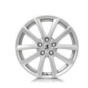 alloy wheel itWheels ELENA mattschwarz Front poliert 18 inches 5x130 PCD ET53 4733212