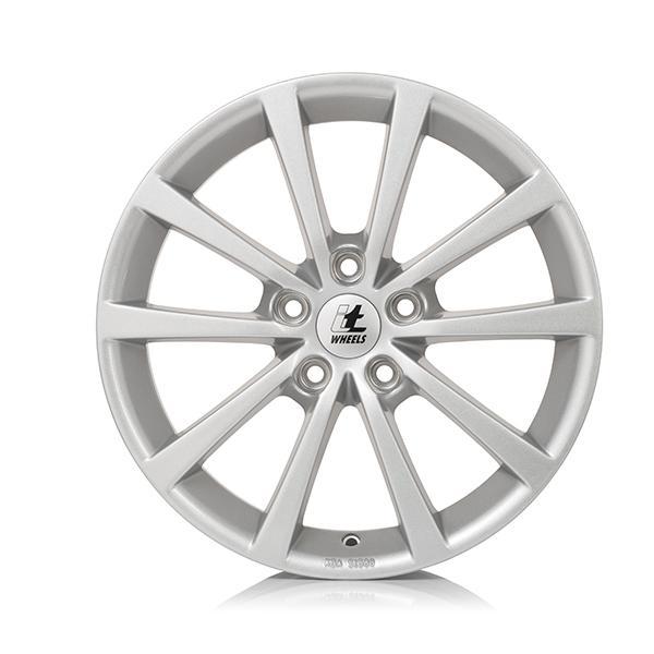 itWheels ALICE gloss silver lichtmetalen velg 7.5xR18 PCD 5x100 ET35 d63.30