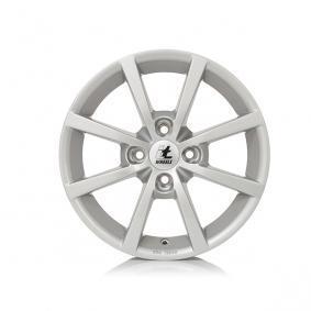 lichtmetalen velg itWheels ALISIA gloss silver 16 inches 4x108 PCD ET20 4710821