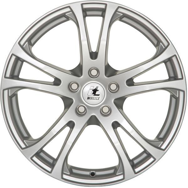 itWheels MICHELLE Matte black/polished alloy wheel 6.5xR16 PCD 5x114.3 ET45 d74.10