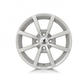 alloy wheel itWheels ALISIA gloss silver 16 inches 4x100 PCD ET40 4710521