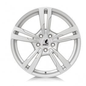 itWheels ANNA gloss silver alloy wheel 7.5xR17 PCD 5x100 ET37 d57.10