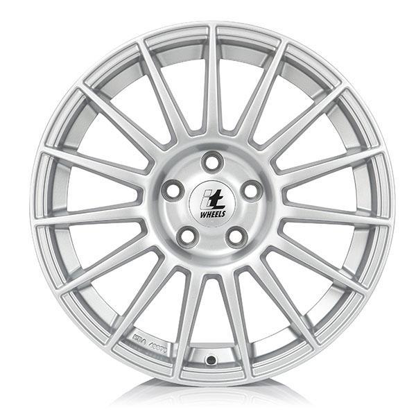 itWheels SOFIA briljant zilver geschilderd lichtmetalen velg 7.5xR17 PCD 5x100 ET35 d63.30