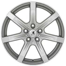 alloy wheel itWheels JULIA brilliant silver painted 15 inches 4x108 PCD ET40 4560401