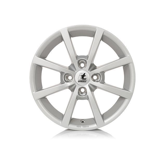 itWheels ALISIA gloss silver lichtmetalen velg 6xR15 PCD 4x100 ET40 d63.30