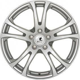 alloy wheel itWheels MICHELLE brilliant silver painted 15 inches 5x100 PCD ET38 4551101