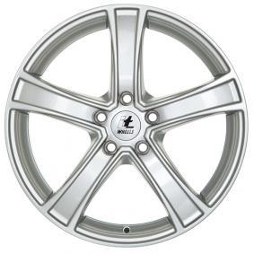 alloy wheel itWheels EMMA brilliant silver painted 19 inches 5x114.3 PCD ET38 4582001