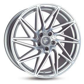 alloy wheel KESKIN KT20 FUTURE hyper silber schwarz Horn poliert 18 inches 5x112 PCD ET45 KT208018511245BP