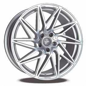 lichtmetalen velg KESKIN KT20 Future palladium Front poliert 18 inches 5x112 PCD ET45 KT208018511245PFP