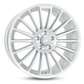 lichtmetalen velg KESKIN KT15 Speed briljant zilver geschilderd 17 inches 5x108 PCD ET48 KT157017510848SL