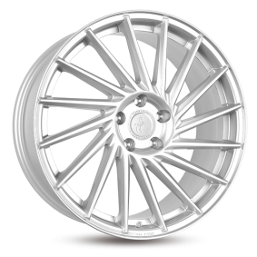 alloy wheel KESKIN KT17 Hurricane mattschwarz Front poliert 22 inches 5x130 PCD ET50 KT171022513050MBFP
