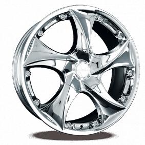 alloy wheel KESKIN KT9 Malik weiss Horn poliert 22 inches 5x120 PCD ET40 KT91022512040X9WLP
