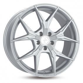 alloy wheel KESKIN KT19 ANGEL hyper silber schwarz Horn poliert 19 inches 5x100 PCD ET30 KT198519510030BP