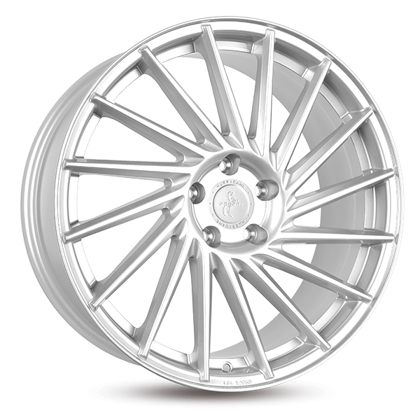 KESKIN KT17 Hurricane silber Front poliert alloy wheel 10xR22 PCD 5x112 ET20 d66.60