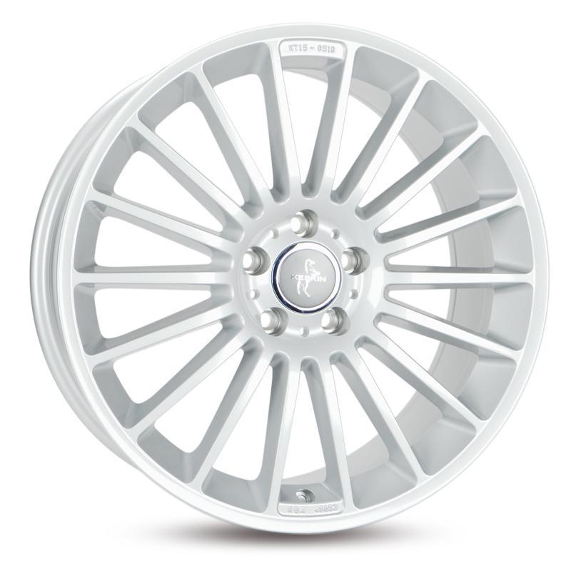 KESKIN KT15 SPEED hyper silber alloy wheel 9.5xR18 PCD 5x112 ET45 d66.60