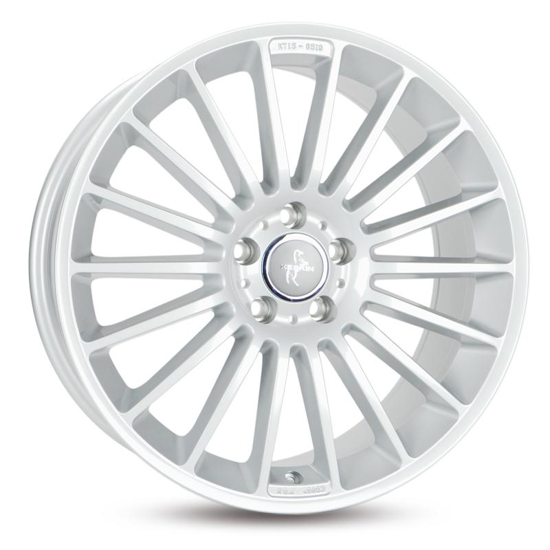 KESKIN KT15 Speed mattschwarz Front poliert alloy wheel 8xR18 PCD 5x112 ET45 d66.60