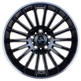 alloy wheel KESKIN KT15 Speed hyper silber schwarz Horn poliert 18 inches 5x112 PCD ET45 KT158018511245BLP