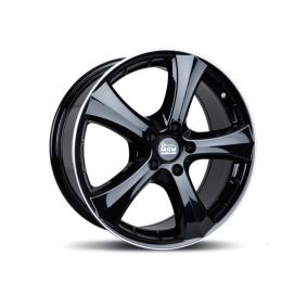 alloy wheel MAM W1N hyper silber schwarz Horn poliert 15 inches 5x114.3 PCD ET37 MAMW1N65155114337BLP