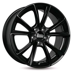 alloy wheel MAM A5 MattSchwarz / Poliert 19 inches 5x112 PCD ET30 MAMA58019511230MBP