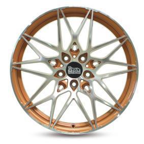 alloy wheel MAM B2 ACID ORANGE FRONT POLISH 18 inches 5x112 PCD ET30 MAMB28018511230AOFP