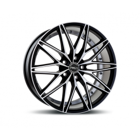 alloy wheel PROLINE PXE mattschwarz Front poliert 19 inches 5x112 PCD ET33 10001083