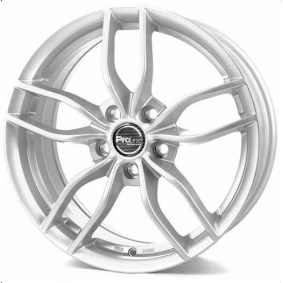 alloy wheel PROLINE ZX100 brilliant silver painted 17 inches 5x114.3 PCD ET38 03921702